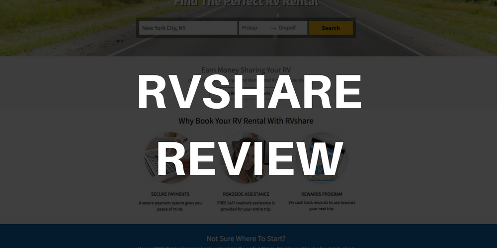 Rent To Own Rv >> Rvshare Review Closer Look At The Fees Insurance Rentals
