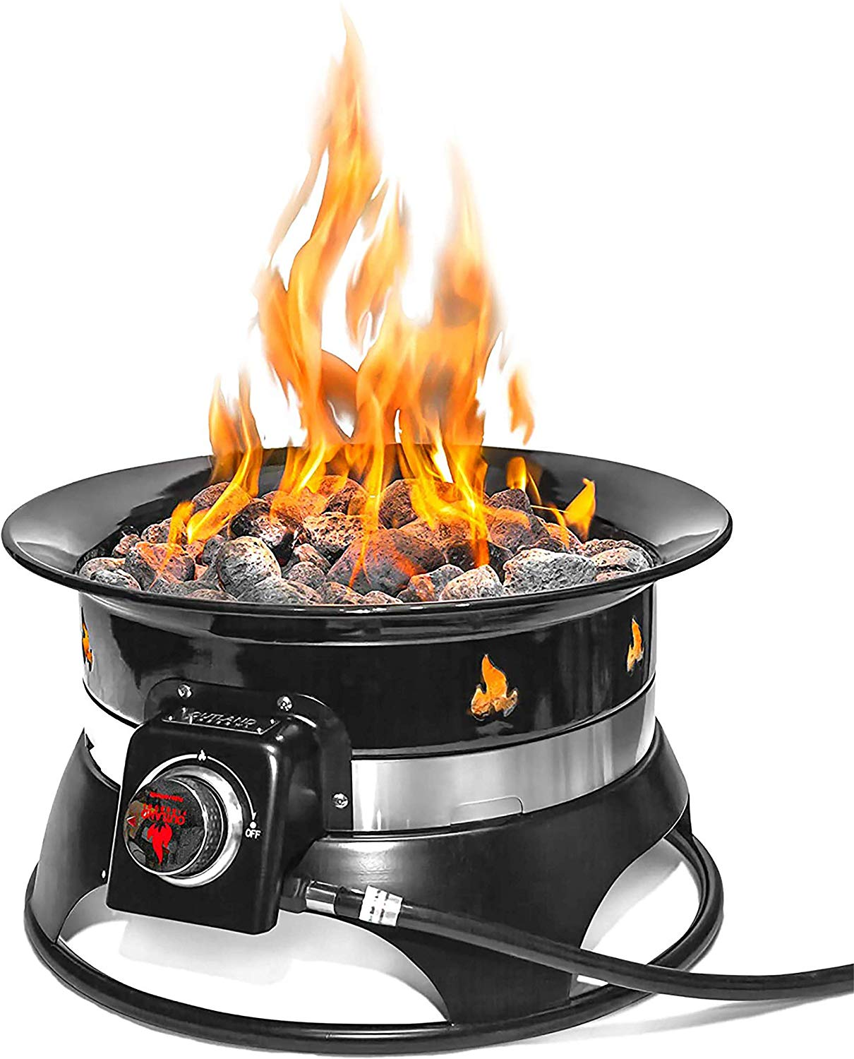 Best Portable Propane Fire Pits in 2019 | Top 10 Picks For ... on Outland Firebowl Propane Fire Pit id=14081