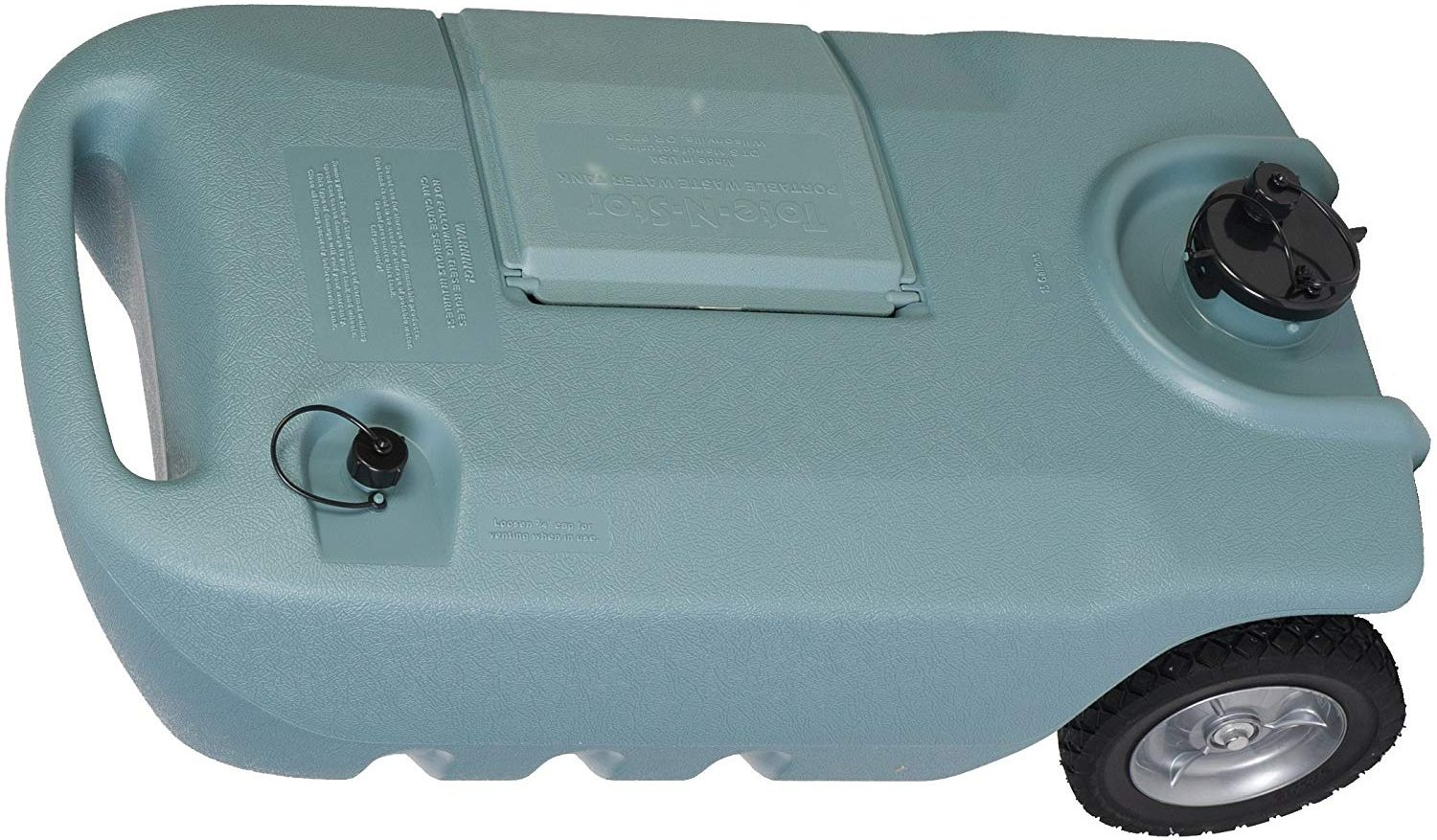 Tote-N-Stor 25607 Portable Waste Transport 15 Gallon Capacity